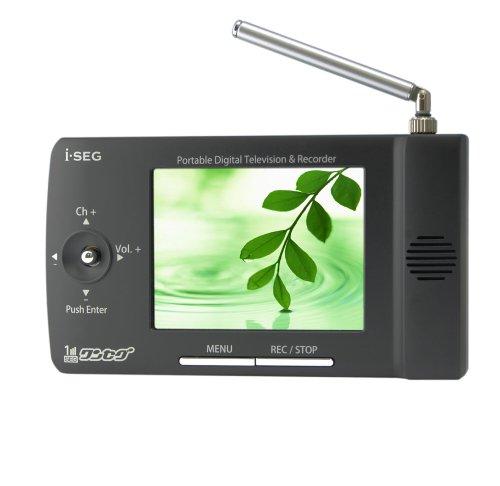 i-SEG 3.5インチ液晶搭載 ポータブルワンセグテレビ BS-200M