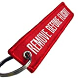 Rotary13B1 - Remove Before Flight Keychain