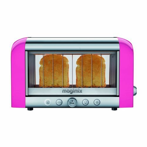 magimix toaster 39 vision rose 39 11530. Black Bedroom Furniture Sets. Home Design Ideas
