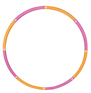 Empower Cardio Core and More Customizable Weighted Hoop with DVD