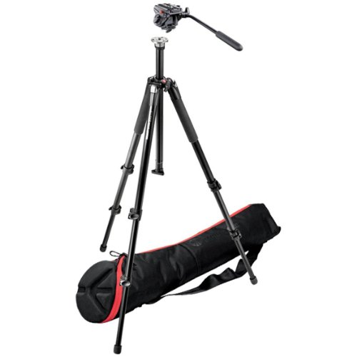 Manfrotto Video Kit 055XB Basic Tripod  Professional