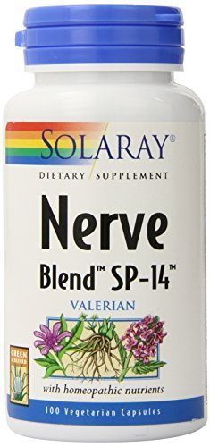 Solaray SP 14 Nerve Blend Supplement, 100 Count
