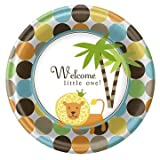 King of the Jungle Lunch Plates 8ct