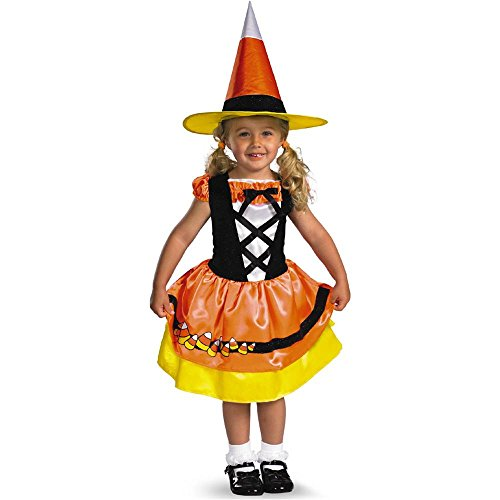 Candy Corn Cutie Witch Toddler Costume