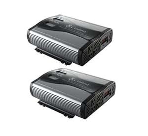 2) Cobra CPI1575 3000 Watt Car Power Inverters DC To AC - TWO PACK