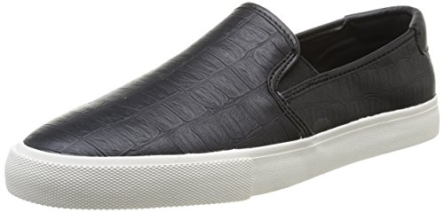 Jim Rickey  Jr 1,  Sneaker uomo Nero Noir (Crocodile) 44