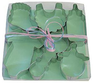 R & M International 1812 Baby Shower 6-Piece Cookie Cutter Gift Set