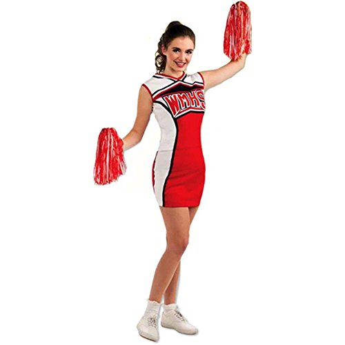 Glee Quinn Cheerleader Adult Costume - Standard