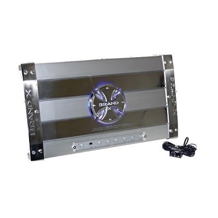 3 canaux Pontable BrandX 1900W Amplificateur de haut-Parleur de voiture