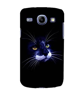 printtech Cat Hollow Back Case Cover for Samsung Galaxy Core i8262::Samsung Galaxy Core i8260