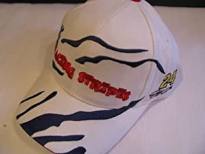 Jeff Gordon #24 Racing Stripes Movie Hat Cap One Size Fits Most OSFM Chase Authentics by Chase Authentics