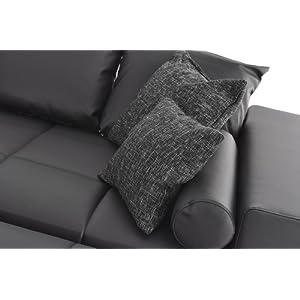 Best Selling Couch Lounge Big Sofa Xxl Marbeya Schwarz Napalon