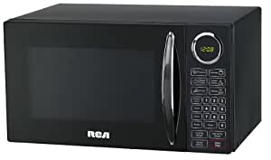 RCA 0.9 Cubic Feet Microwave Oven, Black