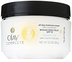 Olay Complete All Day UV Moisture Cream, SPF 15, Sensitive Skin
