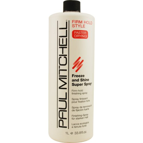 Paul Mitchell Freeze and Shine Super Finishing Spray Refill for Unisex, 33.8 Ounce (Mitchell Freeze Shine compare prices)