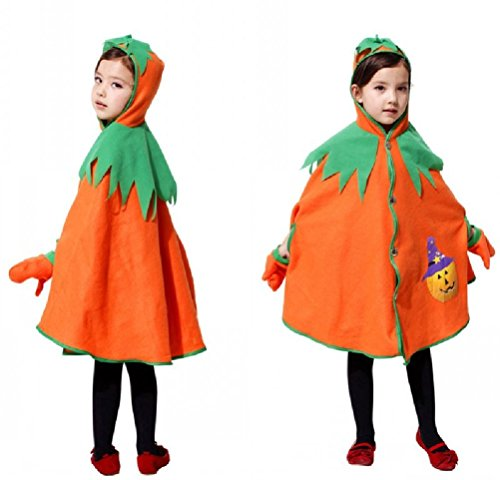 Purplebox Children'S Clothing Halloween Costumes Pumpkin Pumpkin Cloak Cosplay