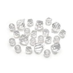 Bulk Buy: Darice DIY Crafts Diamond Gems Acrylic Clear 7 oz. (6-Pack) 1151-66