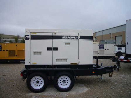 Multiquip Dca70Ssiu2C Portable Generator Tier 3 1240 Hours Since New