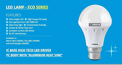Ajanta Eco 6W LED Lamp Bulb (White)