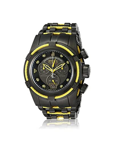 Invicta Men's INVICTA-14423BWB Black Ion-Plated Stainless Steel Watch