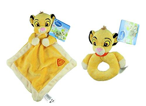 disney-contes-animaux-en-peluche-lady-couverture-confort-pour-bebe-et-trottoir-set-lot-de-2