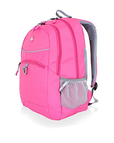 SwissGear Nylon Backpack, Bubble Gum Pink