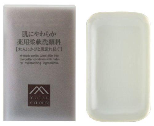 Mマーク 肌にやわらか 薬用柔軟洗顔料 90g