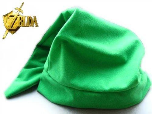 Green Legend of Zelda Link Hat Cap Anime Game Cosplay By Peklo