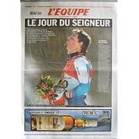 EQUIPE (L') [No 18859] du 13/02/2006 - J.O. D'HIVER - ANTOINE DENERIAZ - DESCENTE OLYMPIQUE DE SESTRIERES - M....