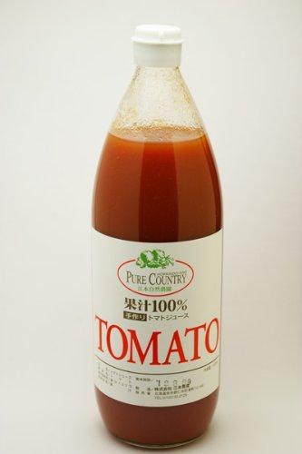 無肥料自然栽培 トマトジュース1L 江本自然農園