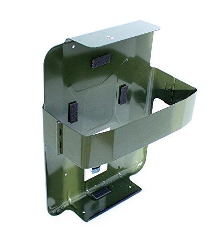 SPP S20VCM - Staffa tipo cintura metallica per taniche tipo Jerry da 20 litri, colore: verde