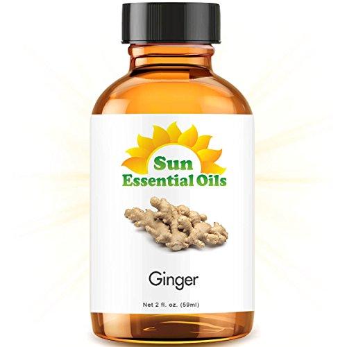 Ginger (2 fl oz) Best Essential Oil - 2 ounces (59ml)