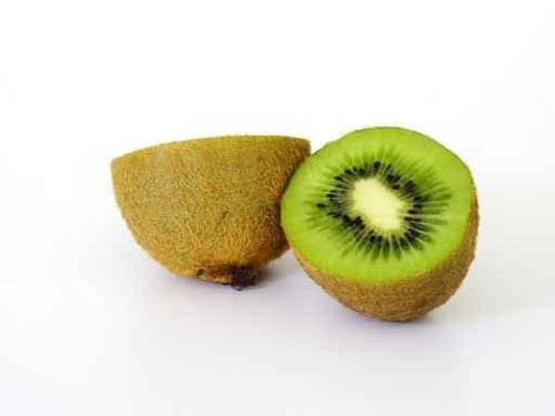 Food Wall Decals Kiwi - 24 Inches X 18 Inches - Peel And Stick Removable Graphic