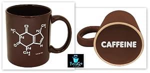 Caffeine Molecule Mug-- Funny Ceramic Coffee Mug!!-- Printed & Tested In The USA!!... by Funny Guy Mugs