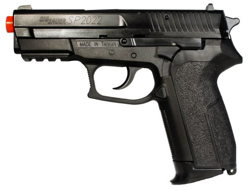 SoftAir Sig Sauer SP2022 CO2 Gas Powered Airsoft Pistol (Black)