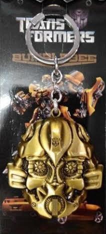 Transformers Bumblebee Gold Keychain Holder