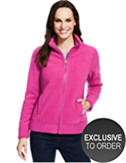 M&S Collection Bonded Fleece Jacket