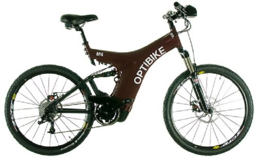 Optibike M4 - Electric Bicycles (Moon Blue)