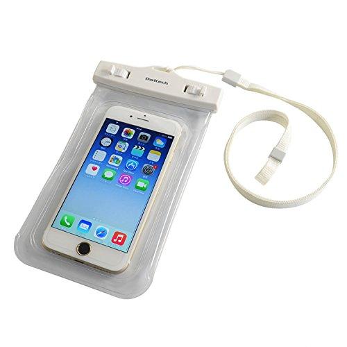 オウルテック 防水・防塵ケース もしもの時でも安心メーカー保証 iPhone 6s / 6sPlus等対応 最高級保護レベルIP68取得 カードポケット ネックストラップ付 クリア