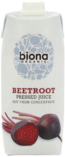Biona Organic Beetroot Pressed Juice 500 ml (Pack of 6)