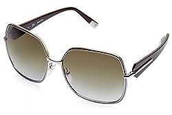 Escada Oversized Sunglasses (Silver) (SES 753|0E60CC|61)