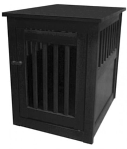 Cheap Dynamic Accents Large End Table Crate – Antique Black|42167 (B002Y4TK5Q)