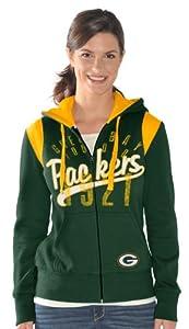 Green Bay Packers Women's Elite Full Zip Hoodie by G-III