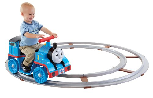 Cheapest Prices! Power Wheels Thomas the Train Thomas with Track [Amazon Exclusive]