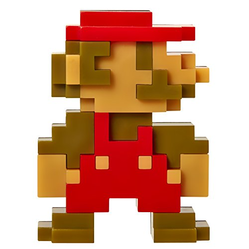 "World of Nintendo 2.5"" 8 Bit Mario Action Figure"