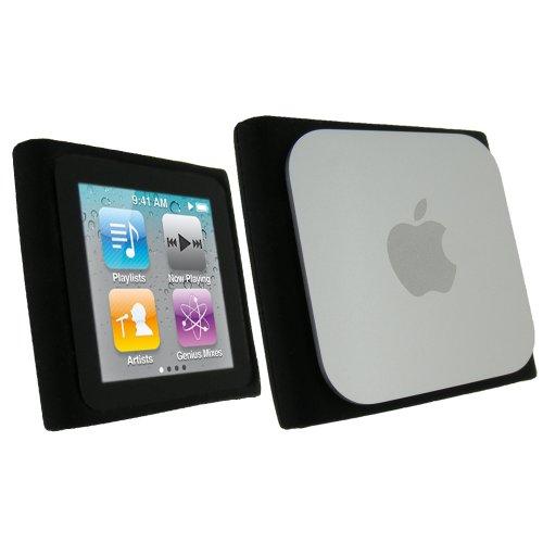 igadgitz-negro-case-silicona-funda-cover-carcasa-para-apple-ipod-nano-6-gen-pantalla-protector