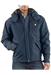 Carhartt Insulated Waterproof Jacket, Bluestone, XX-Large