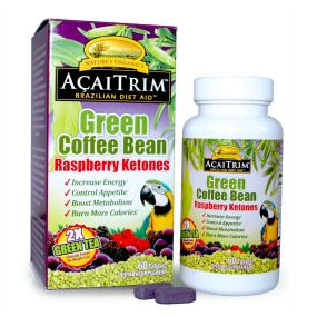 AcaiTrim with Green Coffee Bean and Raspberry Keytones