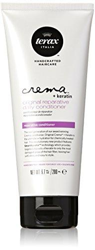 Terax Crema + Keratin Original Reparative Daily Conditioner for Unisex, 6.7 Ounce (Terax Conditioner compare prices)