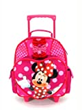 Small Rolling Backpack - Disney - Minnie Mouse - Perfect Bows